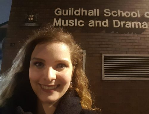 Graduated with Distinction from Guildhall School of Music and Drama!
